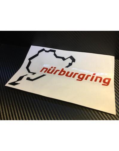 Pegatina Nürburgring 2 colores