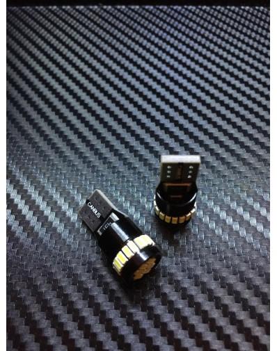 Bombilla LED Canbus W5W T10 10 unidades