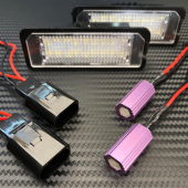 #luces De 🚘 Matrícula #led  ℹ️Canceladores De #canbus  . . . #lucesled #bombillasled #matricula #led #ledlight #pilotosled #focosled #canbus #canbusled #smdled #volkswagen #vwgolf #seat #seatleon #cars #coches #cochesclasicos #paragolpes #accesorios #accesoriosled #carbono #ledlighting #recambiosdecoche #stancecars #vagaccs
