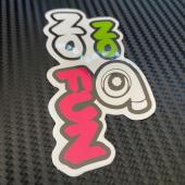 No #turbo 💚 No #fun 💜  📩Consúltanos para todo tipo de #pegatinas 🔰  #pegatina #pegatinaspersonalizadas #pegatinascoche #noturbonofun #noturbonofun #adhesivos #vinilo #adhesivo #vinilos #vinilospersonalizados #vinilodecorte #vinilodeimpresión #impresion #premium #coches #motos #quads #honda #volkswagen #sticker #carstickers #stickers #carsticker #instagram #instashot #iphoneshot